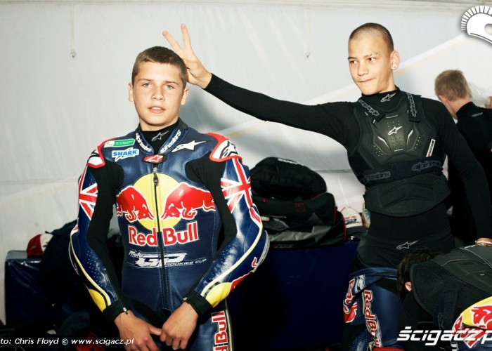 Zawodnicy Red Bull Rookies Cup