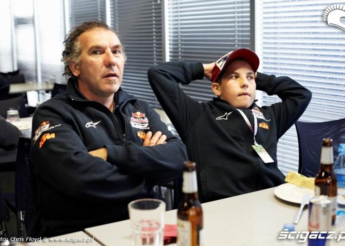 Zawodnik i opiekun Red Bull Rookies Cup