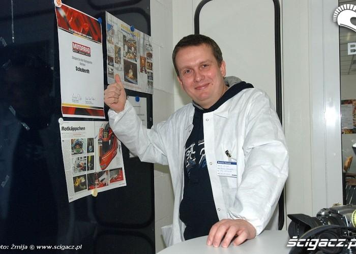 Jacek Ocierpko Motorrad