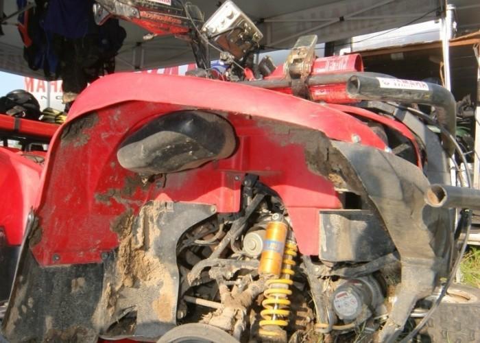 quad po wypadku