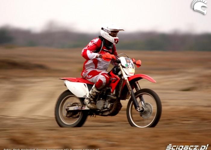Great Escape Rally 2010 motocyklista