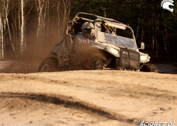 Polaris RZR Great Escape Rally pustynia