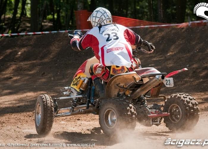 stelmaszyk quad zakret motocross
