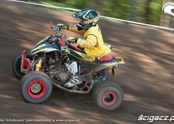 zawodnik jazda motocross wschowa 2009
