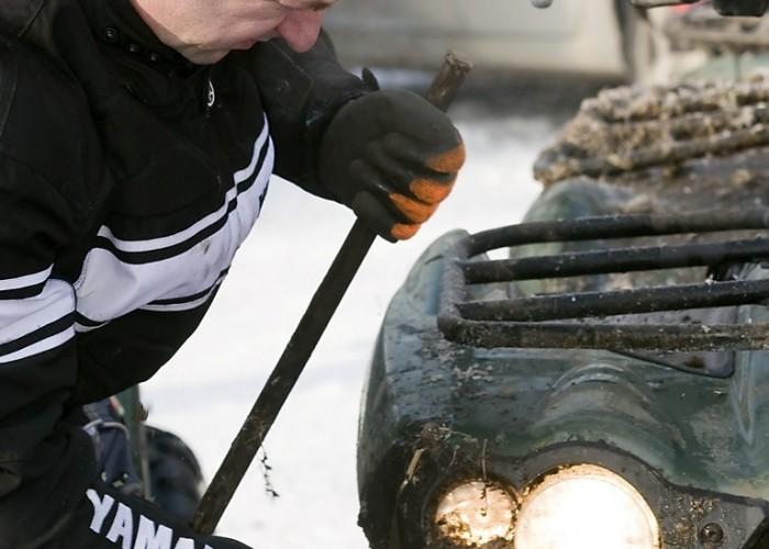 odkuwanie reflektora etap dzienny mamry challenge 2009 d img 0013