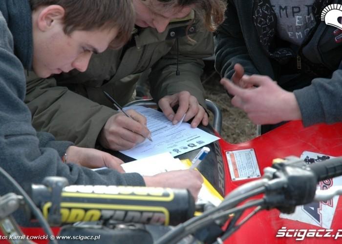 Cross Country Quadow Suwalki Mistrzostawa Polski formularze
