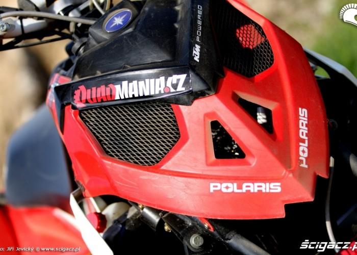 Polaris Outlaw 450 przod maska