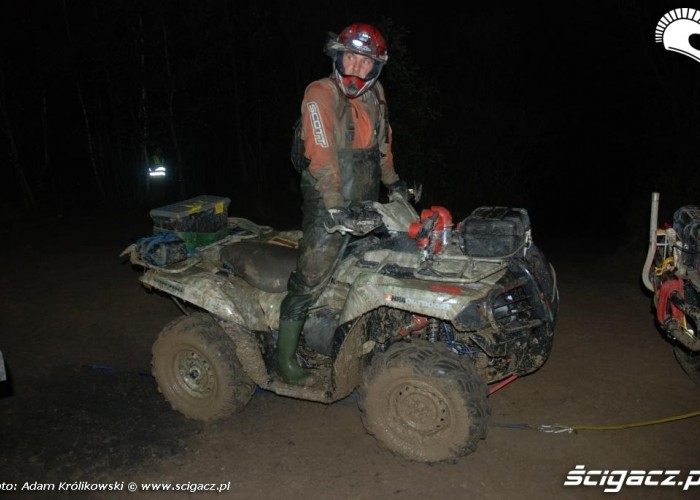 Holowanie quada III runda PPP ATV Polska