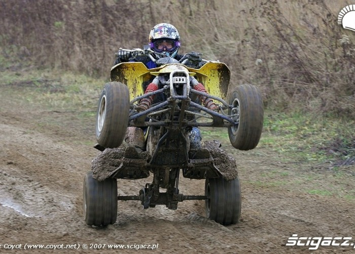 QuadRacer wheelie