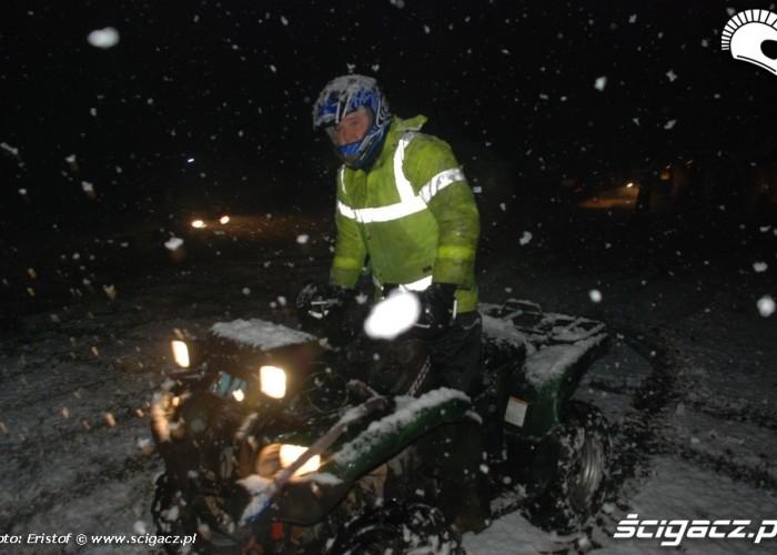 3 Yamaha Cup zawodnik wyjazd noc
