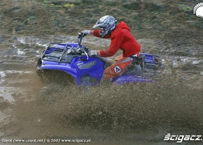 Yamaha Grizzly 700 Fi dirt