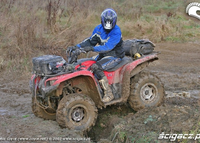 Yamaha Grizzly 700 Fi offroad
