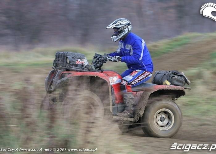 Yamaha Grizzly 700 Fi speed
