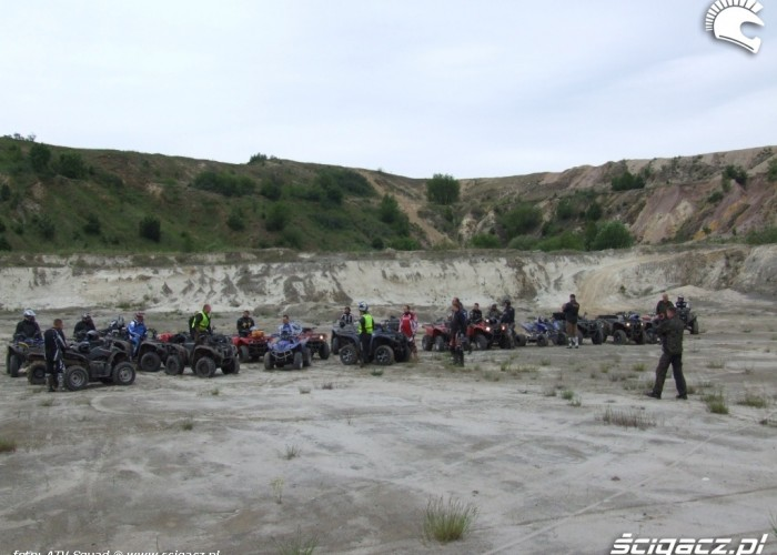 Yamaha Quad Club piaskownia