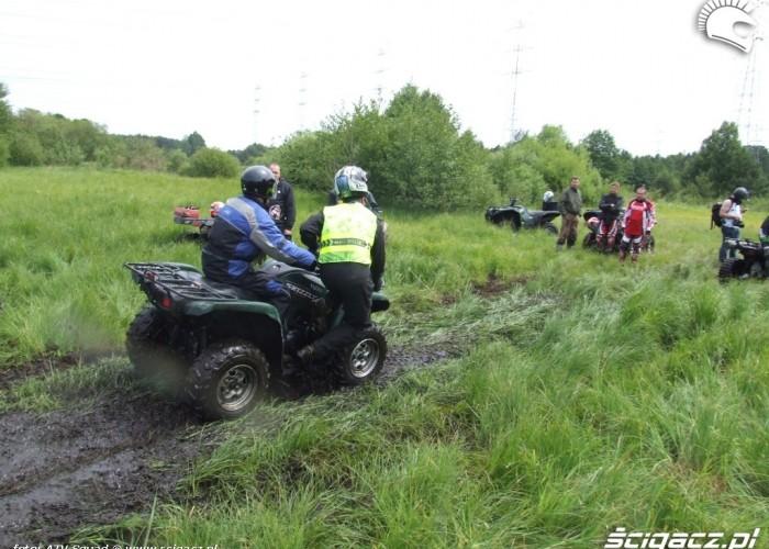 Yamaha Quad Club postoj na polanie