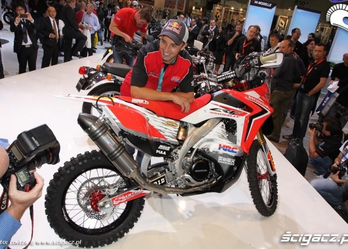 Honda CRF450Rally