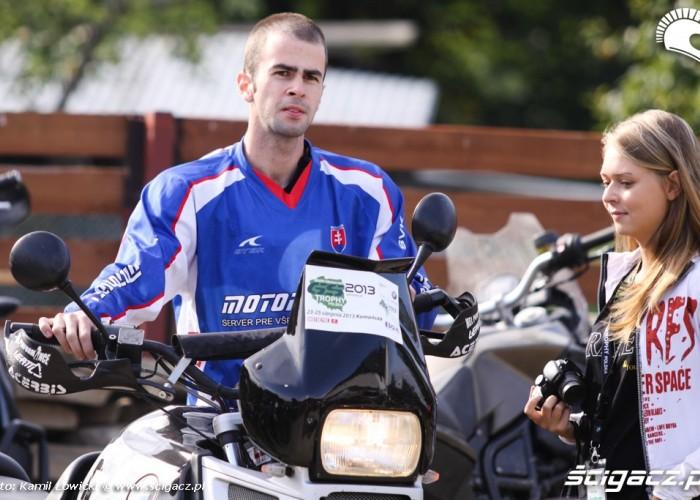 czeski uczestnik BMW GS Trophy