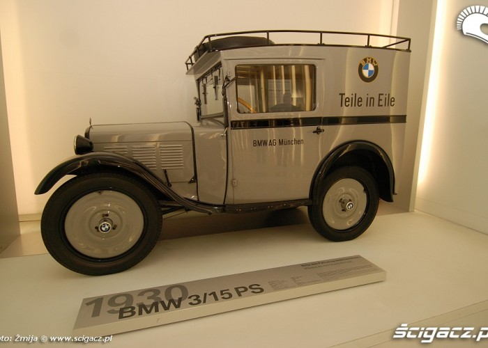 BMW 3 15 PS 1930