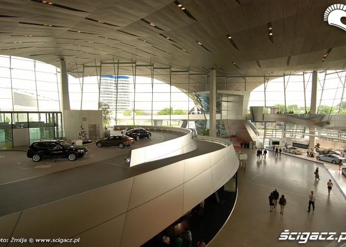 BMW Welt w srodku