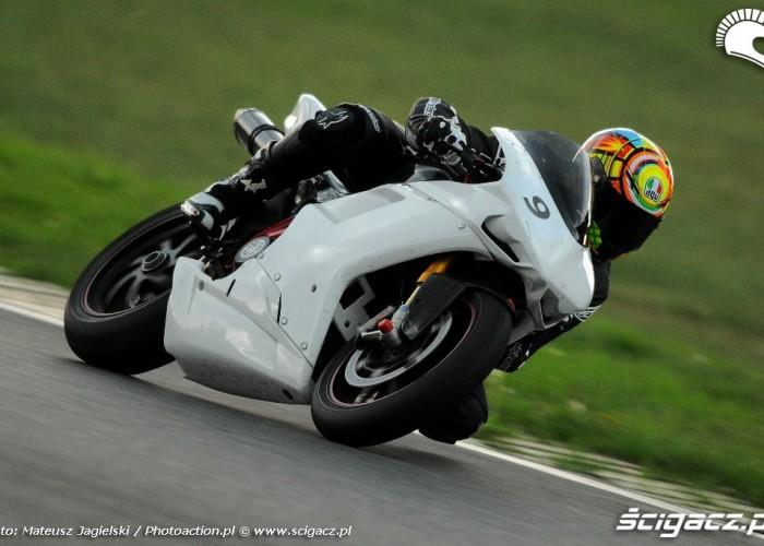 Ducati jazda