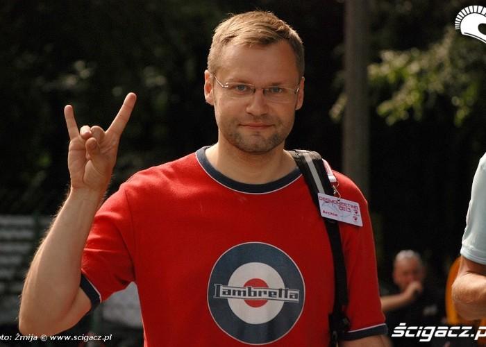 Artur Wawrylo zlot Ducati