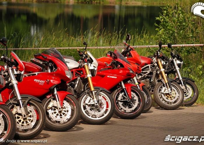 Ducati w oczekiwaniu na wlasciceli
