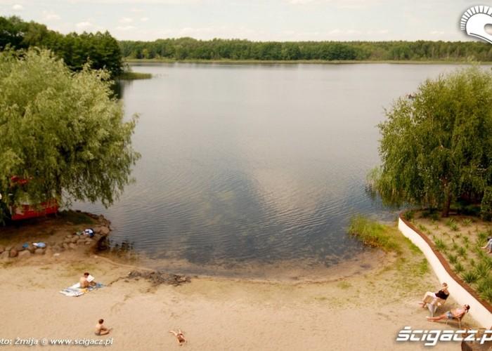 Jezioro Biale hotelowa plaza
