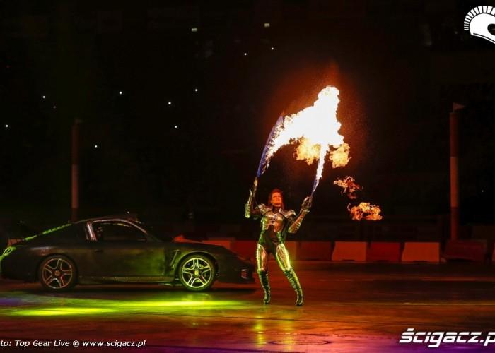 Plomienie Top Gear Live Warsaw