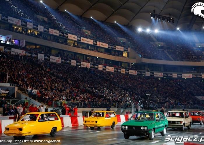 Polska kontra brytyjska motoryzacja Top Gear Live Warsaw