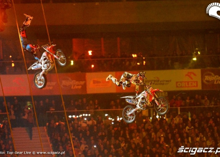 Top Gear Live Warsaw FMX