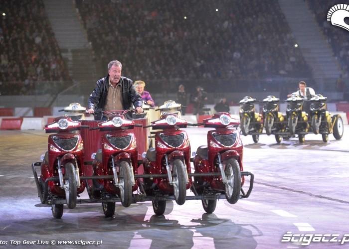 Top Gear Live Warsaw powozy