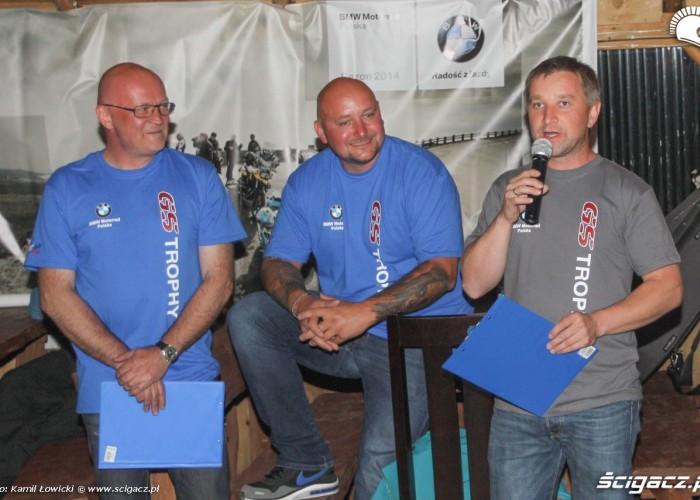 BMW GS Trophy 2014 prowadzacy