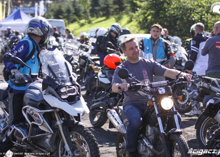 GS Trophy 2014 motocyklisci