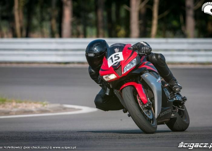 Honda CBR w akcji CSS 2014