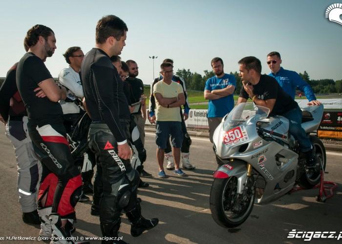 cwiczenia na motocyklu poza torem CSS 2014