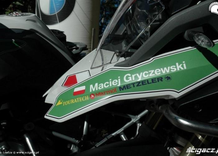 GS Trophy 2014 Kanada Maciej Gryczewski