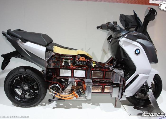 Elektryczny skuter Intermot Kolonia 2014