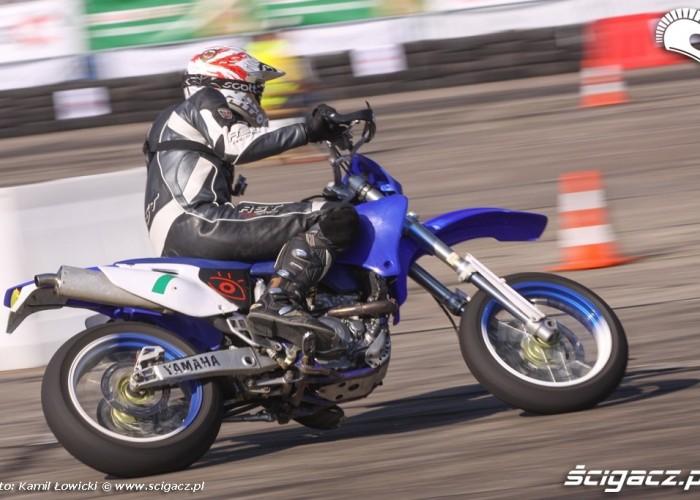 Motocyklista Supermoto Intercars Motor Show 2014