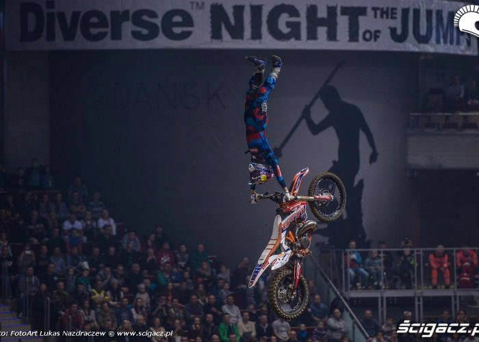 Danny Torres ruller Diverse Night Of The Jumps Ergo Arena 2015