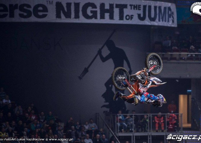 Dany Torres laz yflip Diverse Night Of The Jumps Ergo Arena 2015