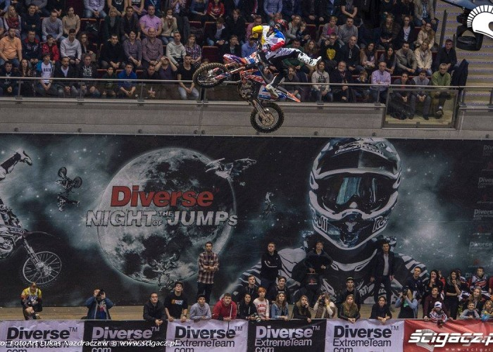Hannes Ackermann Diverse Night Of The Jumps Ergo Arena 2015