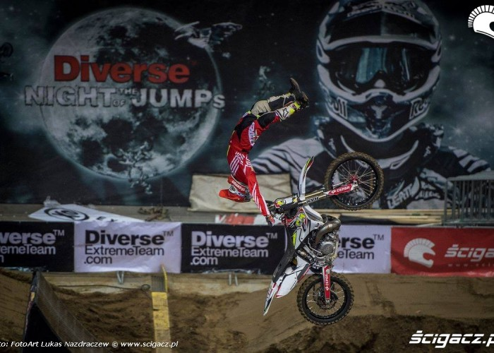 Maikel Melero tsunami Diverse Night Of The Jumps Ergo Arena 2015