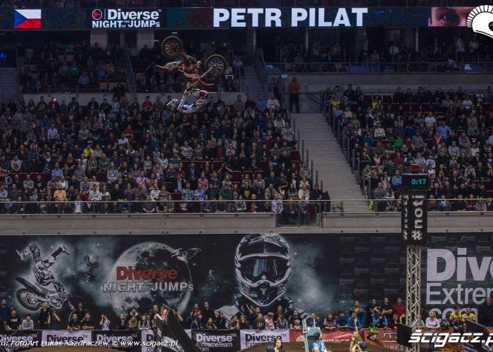 Petr Pilat Diverse Night Of The Jumps Ergo Arena 2015