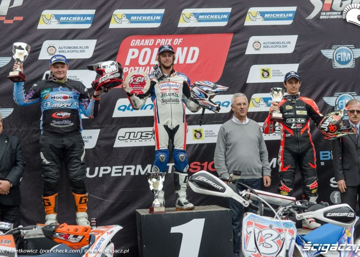 podium s1gp gp supermoto poland poznan 9436