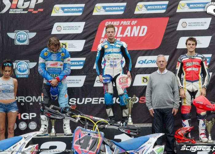 podium supermoto mistrzostwa poznan