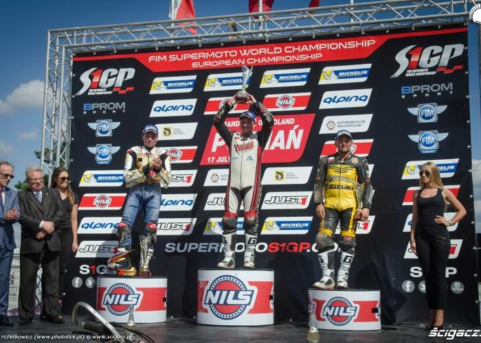 podium supermoto polska 2016 poznan