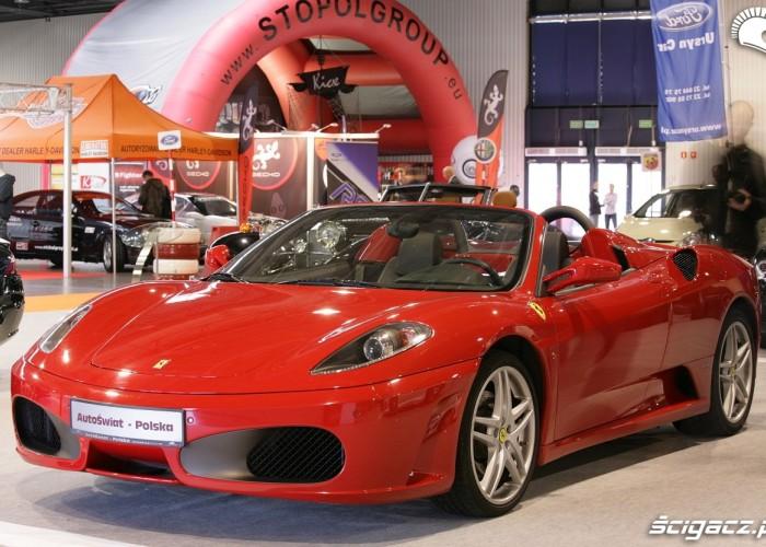 Ferrari F430 Auto Show Poland Warszawa 2009
