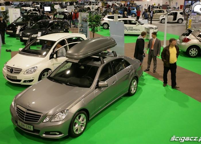 Mercedes Blue Motion Auto Show Poland Warszawa 2009