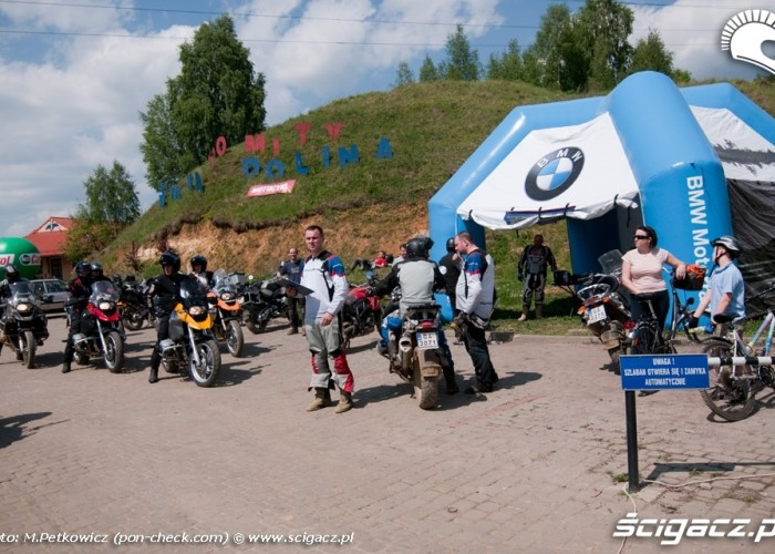 bmw gs challange parking