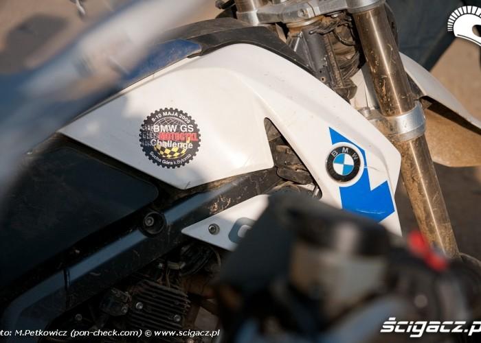 bmw gs motocykl challange sucha gora